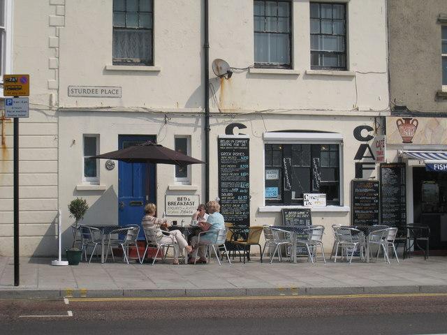 Café, Sturdee Place