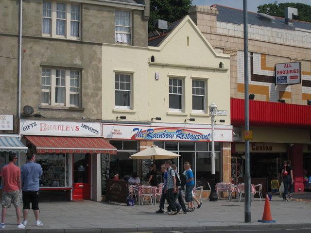 Bradley's and The Rainbow Restaurant, Sturdee Place
