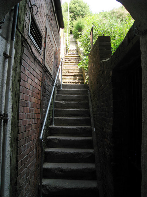Steps to West Hill