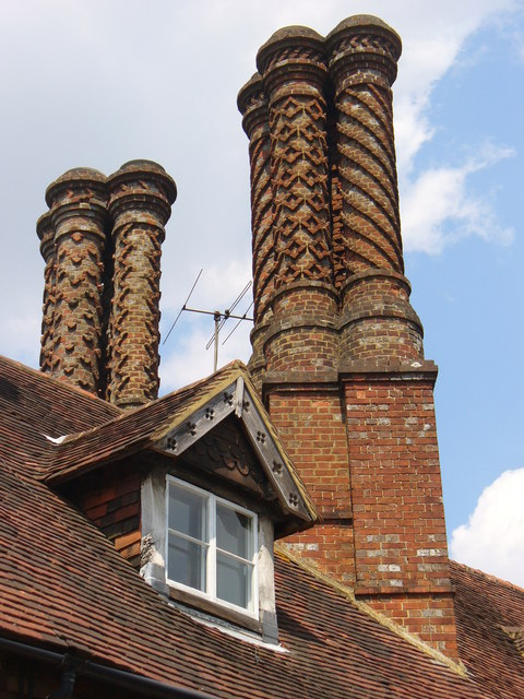 The Pugin Chimneys, Albury