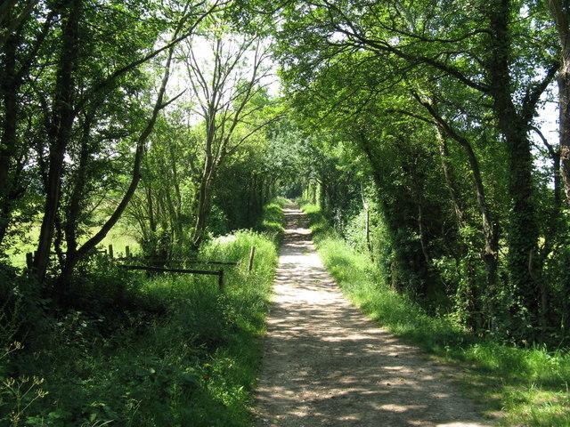 Bridleway west to Graffham