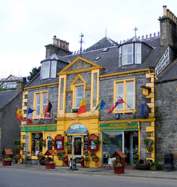 The Famous Glenfiddich Restaurant
