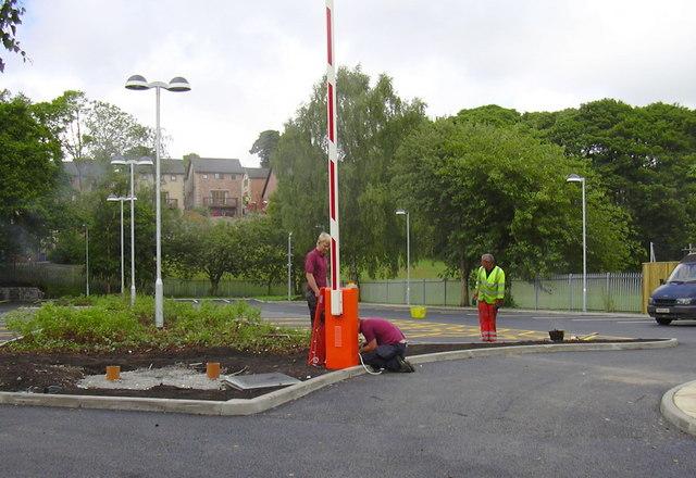 New Staff Car Park for the Health Hub