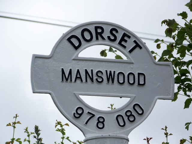 Sign detail, Manswood