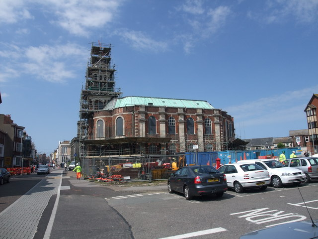 Restoration of St George's Chapel, Great Yarmouth