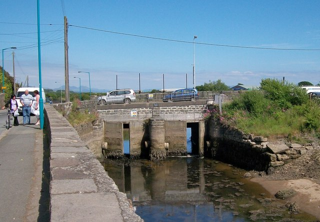The Afon Erch Flood Gates