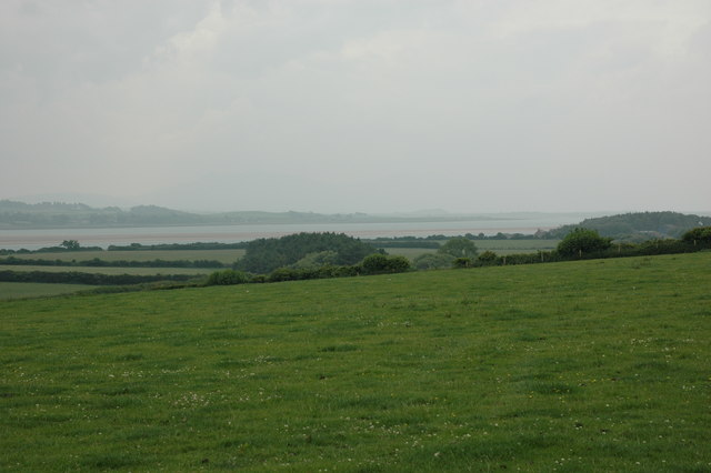 Fields near Brynsiencyn