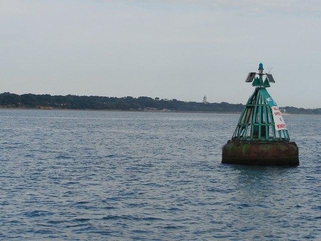 Weston Shelf starboard channel buoy