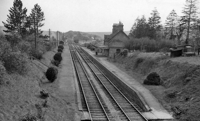 Burghclere Station (remains)