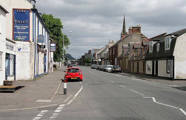 The A71 through Darvel