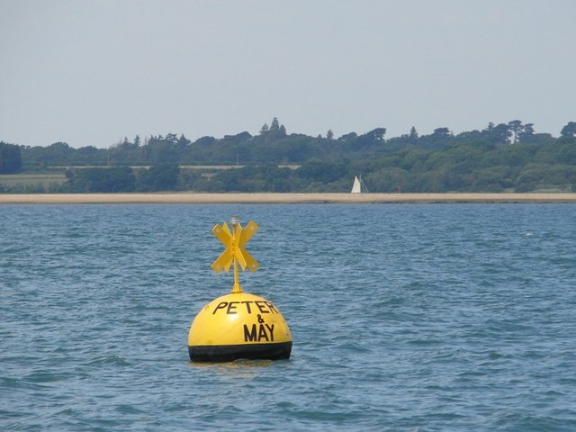 "Racing buoy ""Peters and May"""