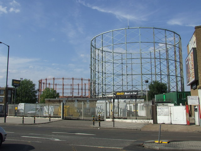 Gasworks, Old Kent Road