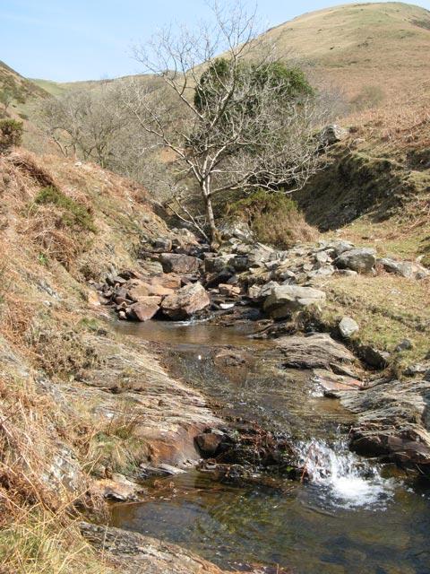Waterfalls, Nant Carfan