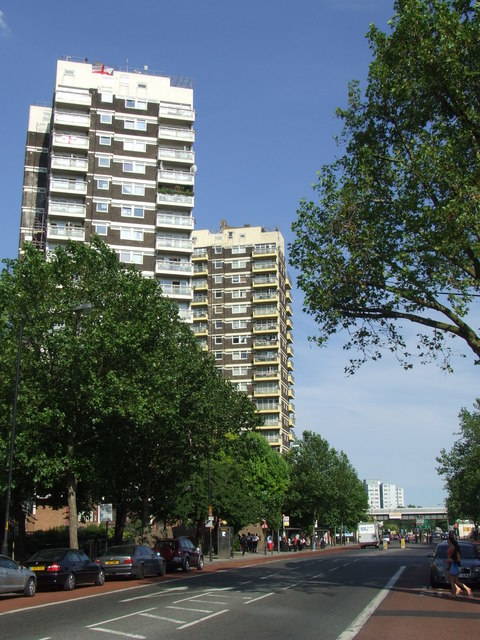 High rise flats, Old Kent Road