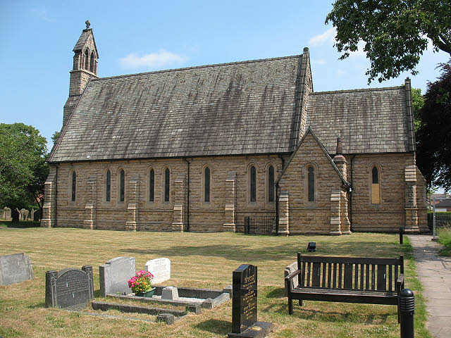 St Peter's church, Elworth - south side