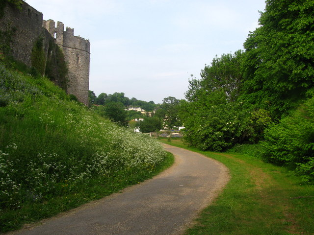 Chepstow Castle Dell