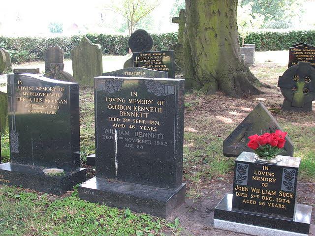 Grave of Gordon Bennett