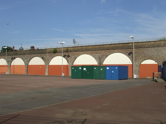 Railway arches in SE15