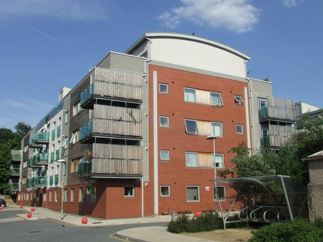 Apartment block, Lugard Road SE15