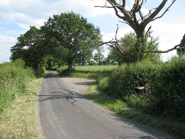 Layby on Jones's Lane