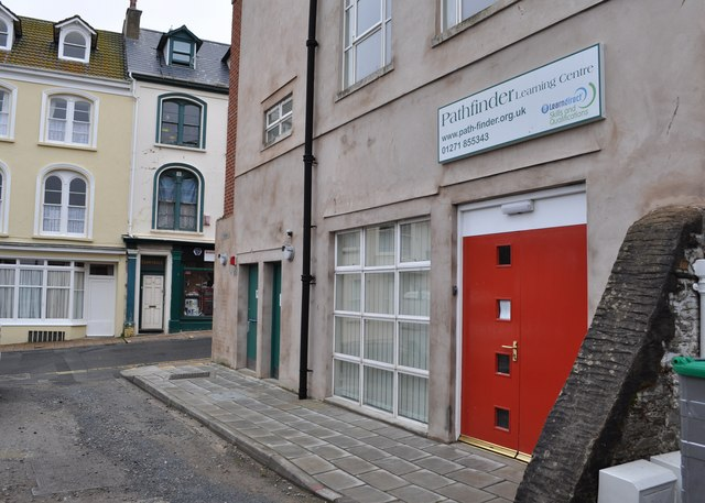 The Pathfinder Centre at the rear of The Ilfracombe Centre, 44 High Street