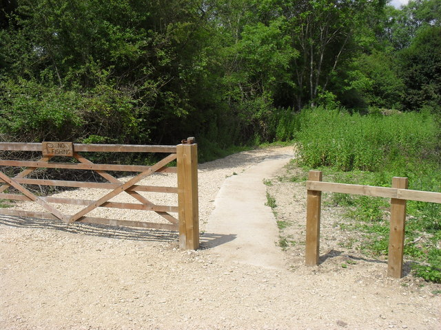 Entrance to Whelford Pools Nature Reserve