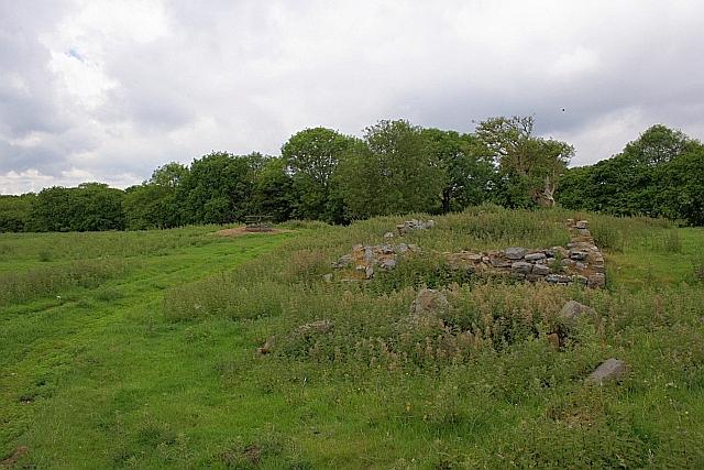 Ruin of Farmstead, Helwath Beck