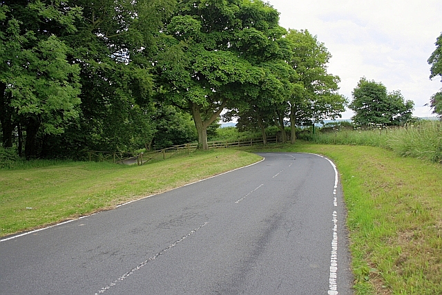 Hairpin Bend, Oliver's Mount Farm