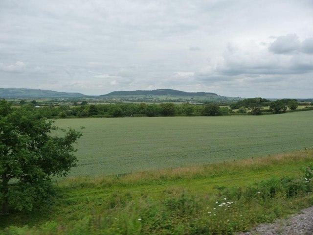 View towards Alderton Hill
