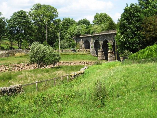 Viaduct at Burnstones