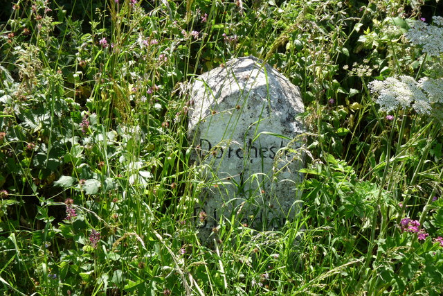 Milestone Near Stinsford, Dorset
