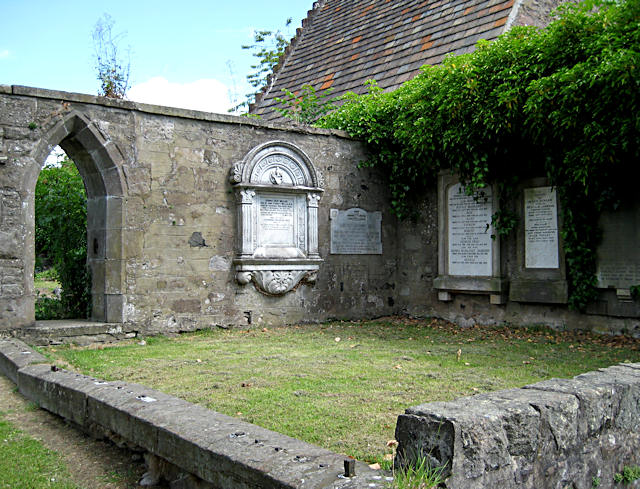 Kinnoull Aisle and Burial Ground
