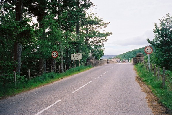 Road into Ballater