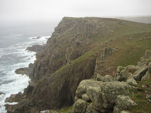 Cliffs above Folly Cove