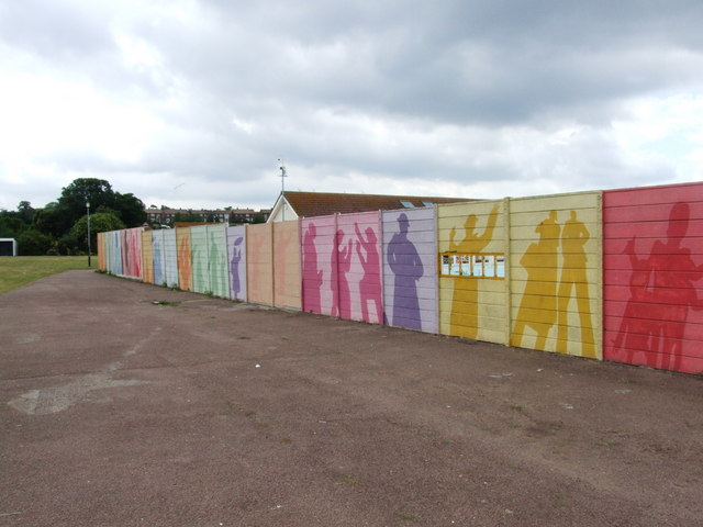 Mural, Strand leisure pool, Gillingham