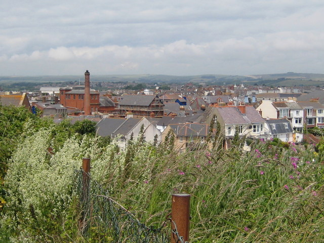 Rooftops from Bincleaves - Weymouth
