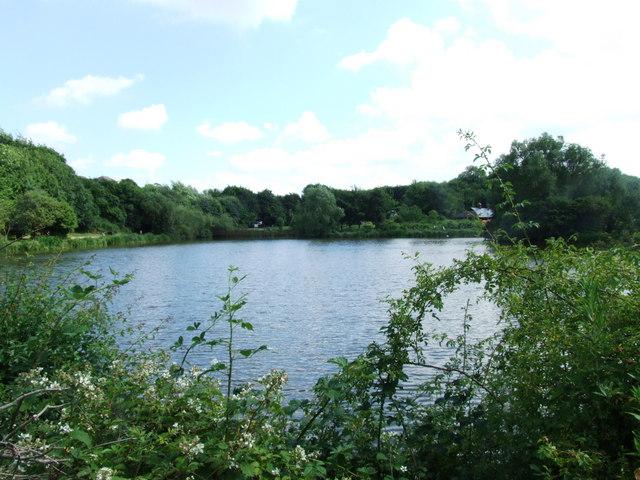 Lake at Capstone Farm Country Park