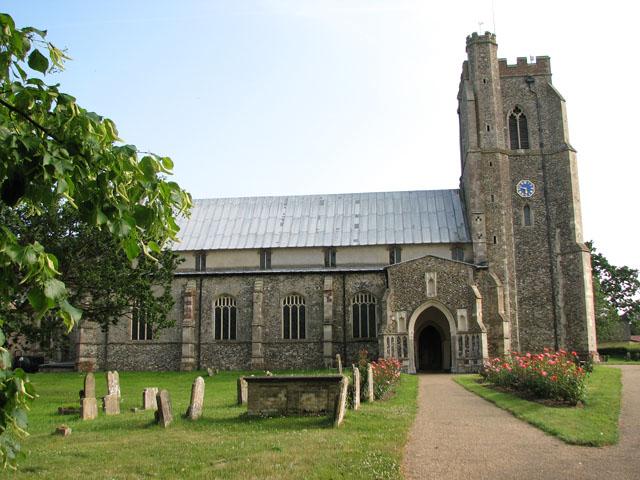 St Mary's church in Dennington