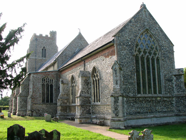 St Mary's church in Dennington