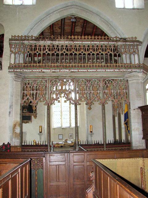 St Mary's church in Dennington - St Margaret's chapel