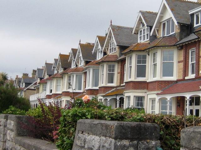 Beachfront houses Greenhill -Weymouth