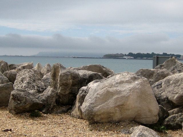 Beach boulders -Greenhill Weymouth
