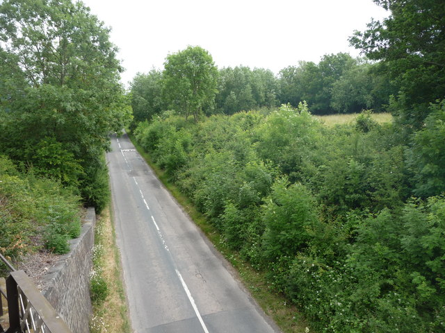 The road to Winchcombe