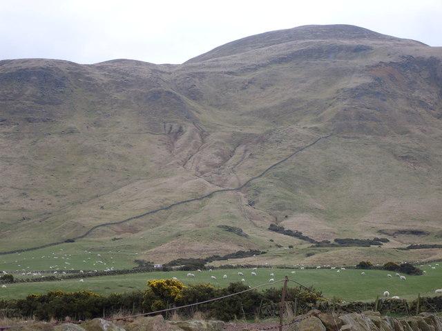 Hoglayers ancient landslide
