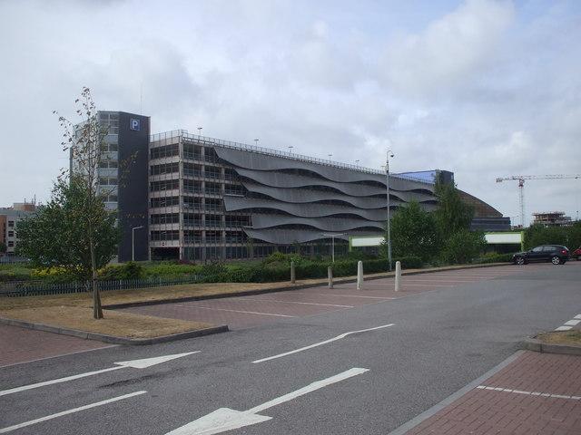 Car park, Cardiff Bay