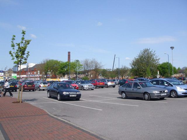 Car Park, Asda Harpurhey