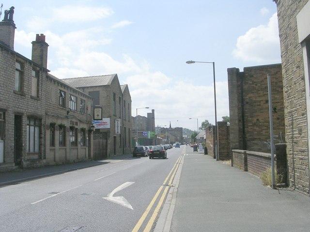 Albert Street - viewed from Lockwood Road