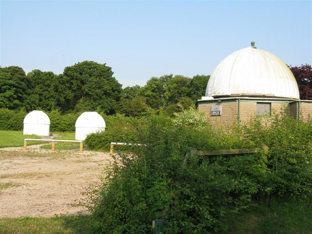 Domes at Alston Observatory
