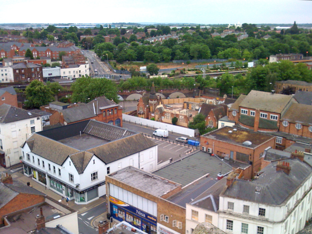 View from the tower of All Saints: 2/5