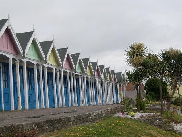 Beach huts - Greenhill Gardens